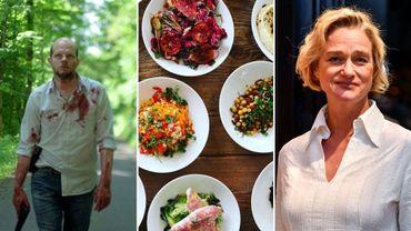 Les séries belges, les guides culinaires et l'affaire Delphine Boël dans la Semaine Viva