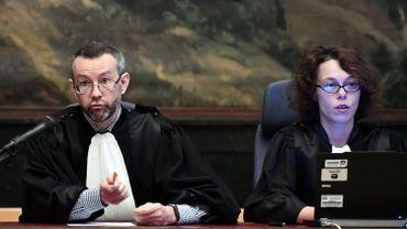 Le président de la 70e chambre du tribunal correctionnel de Bruxelles, Pierre Hendrickx