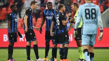 """Standard-FC Bruges : Clement et Vanheusden unanimes, """"il n'y avait pas penalty de Rits"""""""
