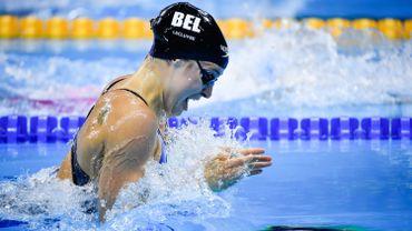 Fanny Lecluyse 5e en finale du 100m brasse à Eindhoven