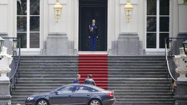Mark Rutte chez la Reine