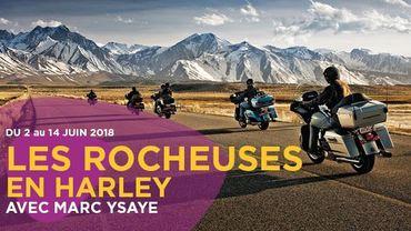 Les Rocheuses US en Harley avec Classic 21 & Marc Ysaye