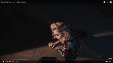 """Madonna a dévoilé son dernier single """"Crave"""", sur lequel figure le rappeur Swae Lee."""