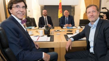 Conclusion des discussions wallonnes PS-MR et Ecolo en vue