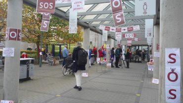 Coronavirus: protestation de 24h des soignants d'Erasme contre la délégation d'actes infirmiers