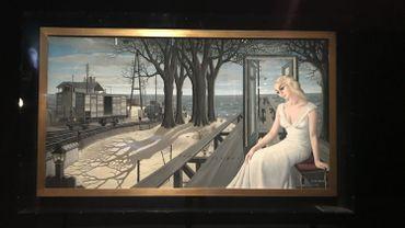 """L'exposition """"Paul Delvaux - L'homme qui aimait les trains"""" est inaugurée à Train World."""