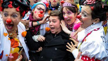 Les clowns ne seront pas rares au cours des prochains jours dans Namur en Mai