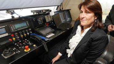 Jacqueline Galant cherche des solutions pour le rail en cas de blackout