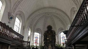 L'intérieur de la chapelle Saint-Augustin, sur le site de Bavière