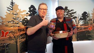 """Les bons produits de chez nous avec Denis Colin de la boucherie """"La Table des Champions"""" de Saint-Hubert..."""