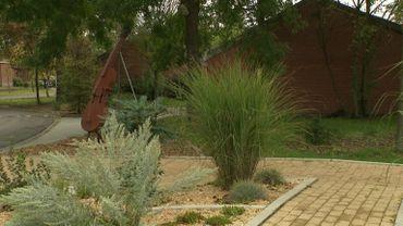 Un jardin qui sollicite les 5 sens à Ghlin : le jardin sensoriel