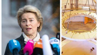 """Face à un """"nouvel exemple d'escalade"""", l'UE a beaucoup à offrir pour stabiliser la région, affirme Ursula van der Leyen - à droite, centrale nucléaire iranienne d'Arak, le 23/12/2019"""