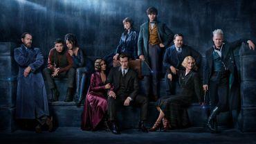 """Le casting du film """"Les Animaux fantastiques 2"""" prend la pose avant une sortie prévue le 14 novembre 2018"""