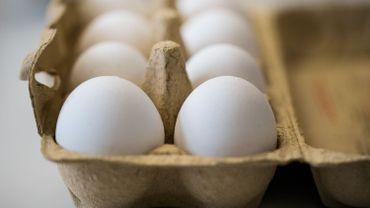 Des œufs ont été retirés des rayons