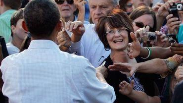 Barack Obama dans l'Iowa
