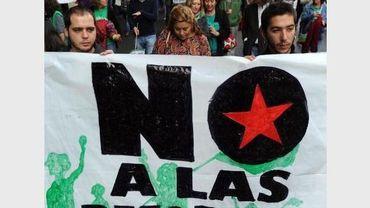 L'austérité en Espagne provoque la colère des citoyens