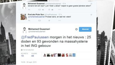 Anvers: un bâtiment évacué et une arrestation suite à un tweet ironique