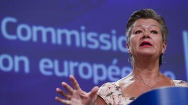 La commissaire Ylva Johansson.