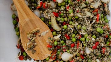 Salades santé et leurs huiles! Rien que du très très bon!