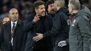 """Simeone rend hommage à son groupe: """"Ces joueurs sont des héros"""""""