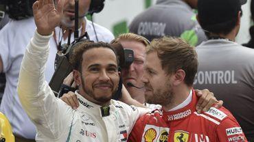 """Hamilton et ses 5 couronnes débarquent au Brésil : """"Le record de Schumi ? Je n'y pense pas."""""""