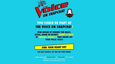 """NBC Universal va produire une version spéciale de """"The Voice"""" pour Snapchat"""
