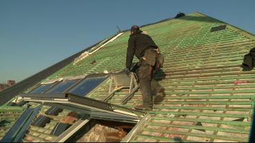 La Belgique dans le froid : beaucoup de travailleurs encore actifs à l'extérieur