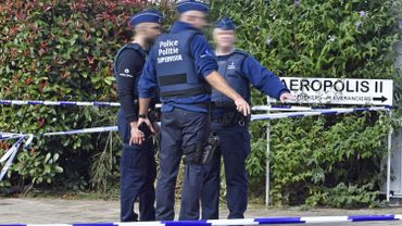 L'attaque sur les policiers à Schaerbeek en octobre dernier.