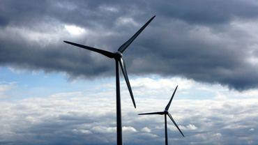 Le projet prévoit l'implantation de six éoliennes (illustration).