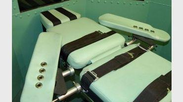 Photo non datée montrant l'intérieur d'une salle d'exécution