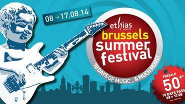 Le Brussels Summer Festival du 8 au 17 août