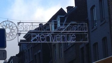 Liège: la nouvelle rue Saint-Léonard