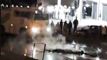 Gilets jaunes: les manifestants forcés de quitter leur barrage à Tertre