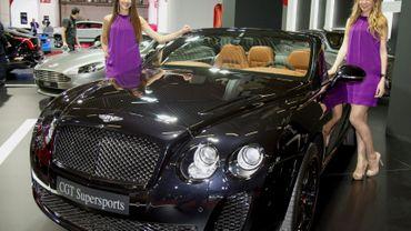 Les enregistrements de voitures de luxe en hausse grâce à la nouvelle TMC