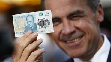 Brexit: le gouverneur de la Banque d'Angleterre reste un an de plus