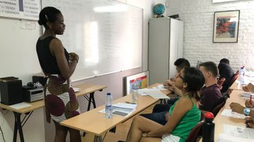Cours de français à la Maison de l'Amérique latine à Bruxelles