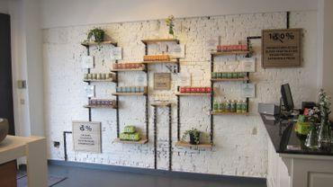 Les adresses de la rédac : un petit magasin 100% Bio, Vegan et Made in Bruxelles