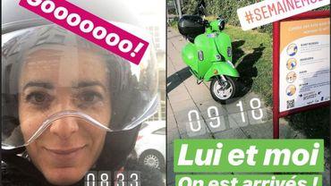Vanessa Klak a testé... le scooter électrique