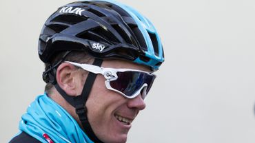 Nouvel objectif en vue pour Chris Froome, qui sera au départ du Giro.