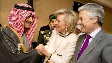 Les relations entre la Belgique et l'Arabie Saoudite sont l'objet de nombreux débats...