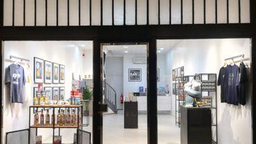 Le pop-up store consacré uniquement au Chat de Geluck a ouvert ses portes début novembre dans le passage Lemonier à Liège.  Il fermera ses portes le 29 décembre.
