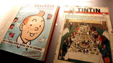 Une illustration de Hergé vendue 108.000 euros à Bruxelles