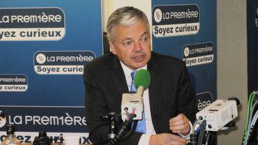 Didier Reynders (MR), invité de Matin première ce mercredi