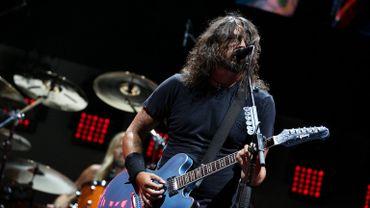 Dave Grohl, le chanteur des Foo Fighters, au Summer Sonic Festival à Tokyo.