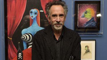 """Tim Burton , au festival """"Tim Burton's Films World"""" présenté à Genk"""