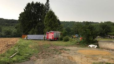 Orages en Hainaut et Brabant wallon: la foudre provoque plusieurs incendies