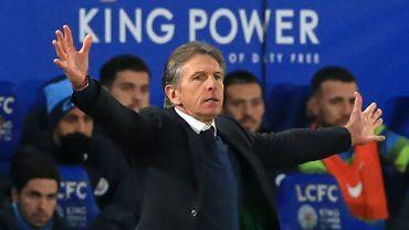 L'entraîneur Claude Puel limogé de Leicester