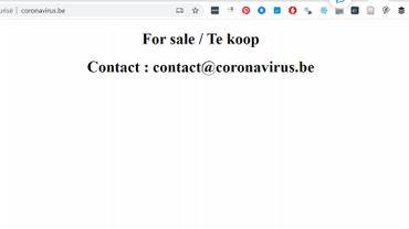 Conférence de presse du CNS: attention, non, vous ne trouverez aucune info sur www.coronavirus.be