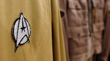 """Un des nombreux emblèmes de la saga """"Star Trek"""""""