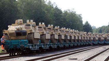 Des chars Abrams participeront aux manœuvres.